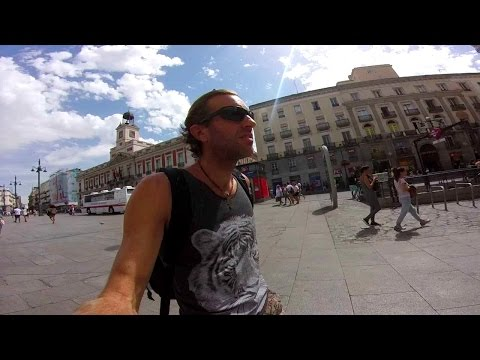 MADRID, SPAIN: Exploring the City Center