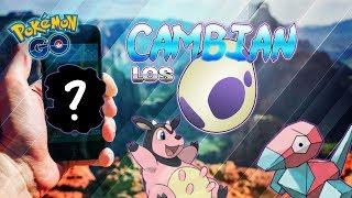 CAMBIOS en HUEVOS de 10km & BUG en INCURSIONES LEGENDARIAS ?! - Pokemon Go