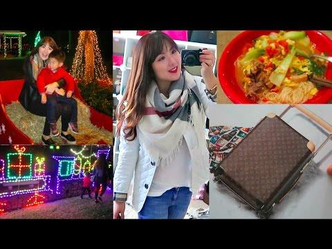 VlOG- Fun Christmas Lights, OOTDs, Ox Bone Soup, Trader Joe's & More!