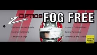 Helmet Face Shield Fog Free Film Insert P0100011 Zamp Z Optics