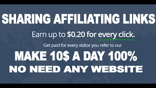 Get paid for every visitor you refer to our site. entireweb pay all clicks generate, and can earn up $0.20 per visitor.this affiliate prog...