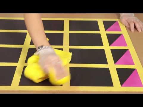 ספריי צבע לוח מגנטי וצבעי גיר מחיקים