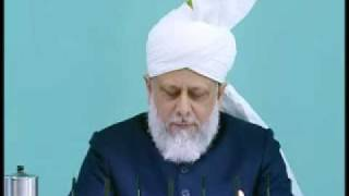 Friday Sermon : 8th January 2010 - Part 4 (Urdu)