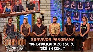 Baixar Yarışmacılara zor soru! 'Sizi en çok hangi konuda eleştirmişizdir?'| Survivor Panorama