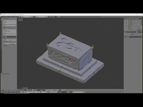 Model a Cult Altar to Orcus for D&D | Blender 3D Modeling for Printing Tutorial
