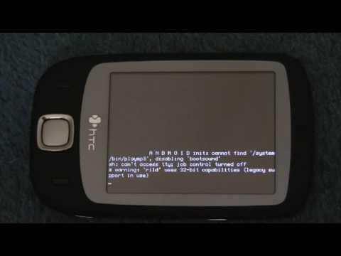 Htc ELF (Htc Touch) running Android