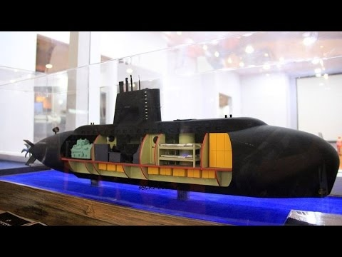 High tech military gear: Indonesia unveils 22 m mini submarine concept for special operations