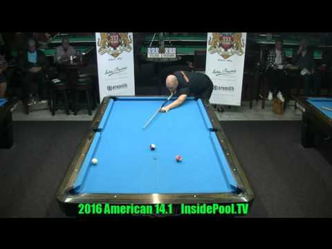 2016 American 14 1 Tournament Niels Feijen vs Nick Van Den Berg