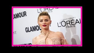 [News 2017] 'lucky elon musk': fans go gaga over amber heard's y snap in leather lingerie