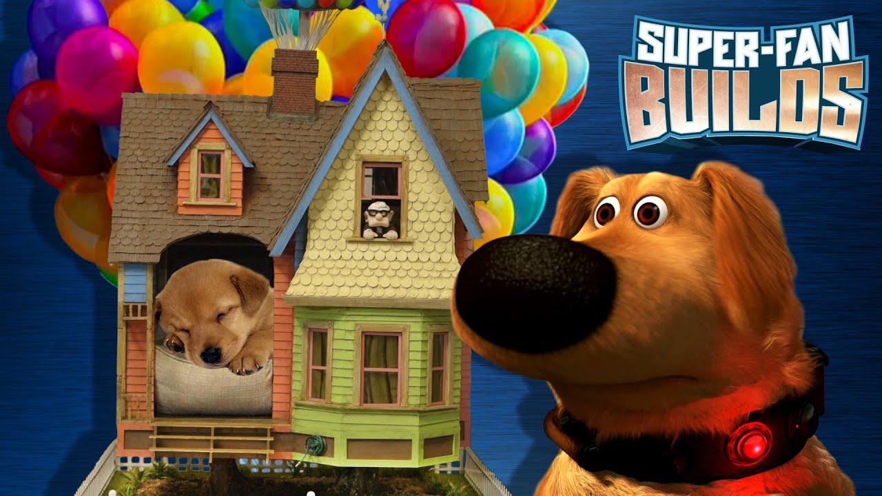 Disney pixar 39 s up dog house super fan builds youtube for 7 a la maison episodes