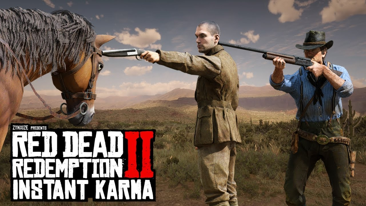 Best Of Instant Karma #2 (Red Dead Redemption 2 Funny Moments) thumbnail