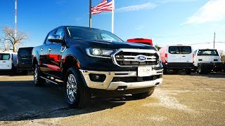 2019 Ford Ranger Lariat First Look and Walk Around