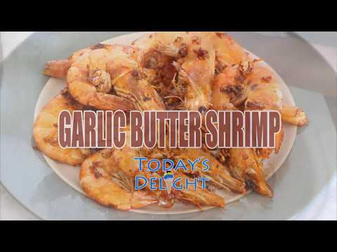 How to Cook Garlic Butter Shrimp Recipe – Today's Delight