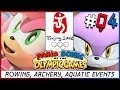 Mario and Sonic at the 2008 Olympic Games Rowing, Archery, Aquatics, Amy and Blaze Part 4
