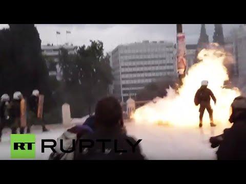 Greece: Police clash