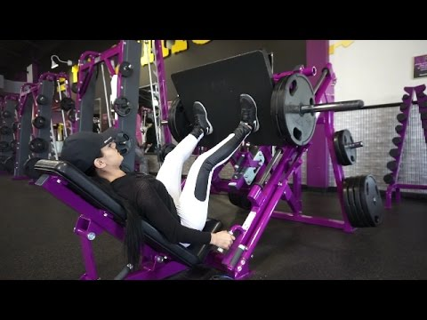LOWER BODY WORKOUT ROUTINE (Part1): MARIA PALAFOX