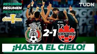 Resumen y goles | México 2-1 Canadá | Copa Oro 2021 - Semifinal