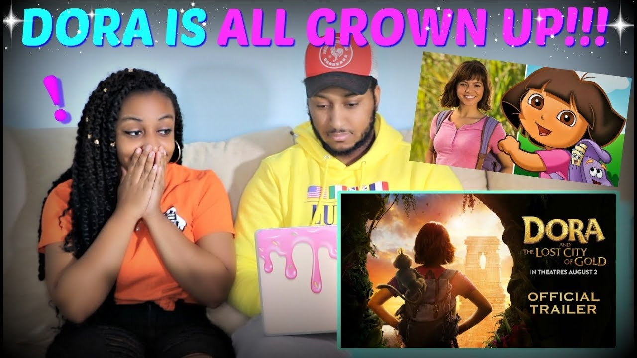 Dora And The Lost City Of Gold Official Trailer Reaction