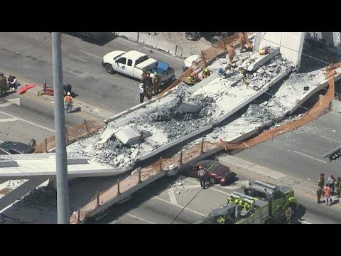 Bridge Collapses In Florida  56,007 US Bridges Are Structurally Deficient