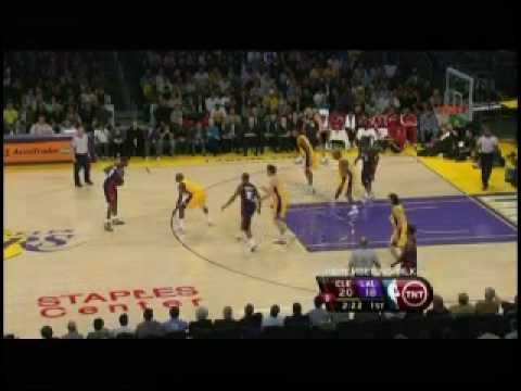 [2009.01.19] Cavaliers at Lakers - Kobe vs LeBron (1 of 2)