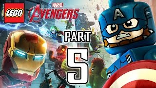 LEGO Marvel's Avengers Walkthrough PART 5 (PS4) Gameplay No Commentary  @ 1080p HD ✔