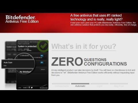 Обзор и тест Bitdefender Antivirus Free Edition