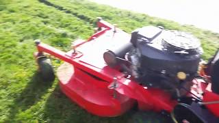 DIY LAWNMOWER CHUTE BLOCKER [Devon's Lawn Care] - Devon's