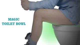 toilet night light video by WEBSUN