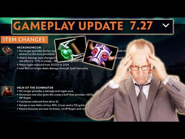 New Patch New Items - Gorgc reviews Dota 7.27