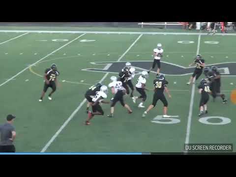 #9 Jemarion hayes freshman highlights RB&DE