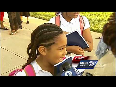 Students in Hickman Mills School District start back to class