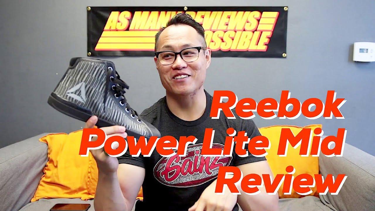 Reebok Power Lite Mid Powerlifting Shoe