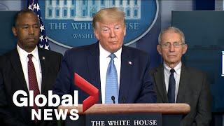 Coronavirus Outbreak: Trump, Taskforce Discuss Economic Stimulus, Stranded Americans, And Testing