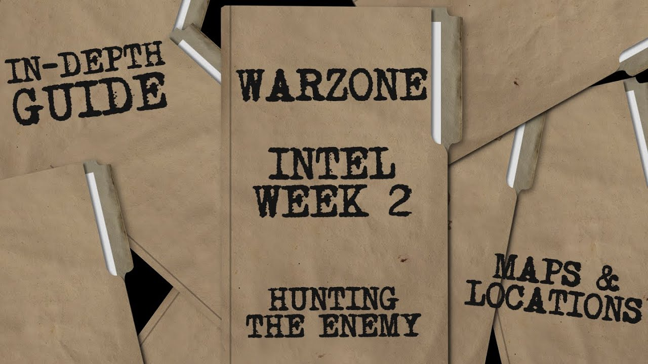 Warzone Intel Guide: Hunting The Enemy (Week 2) - Map, Locations, & Challenges for Every Mission