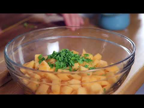 Juicy Melon and Cucumber Salad