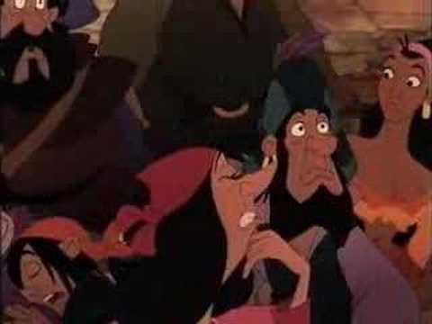 The Hunchback of Notre Dame 1996 (Disney) - Esmeralda