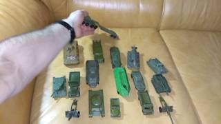 Советские игрушки металлические военные времён СССР