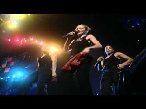 Madonna - Holiday (Drowned World Tour) from YouTube · Duration:  4 minutes 49 seconds