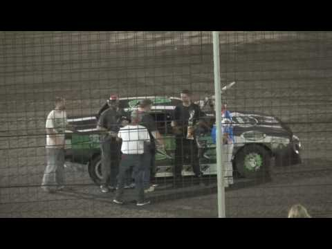 Lakeside Speedway USRA A&B Mods Stock Cars 4 14 17 A Mains