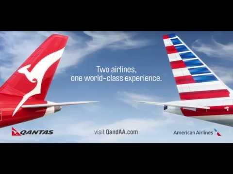 Qantas & American Airlines