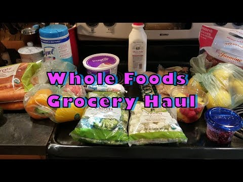 Whole Food's Grocery Haul 11/11/2018