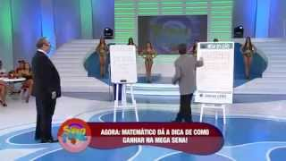 Usando a Matemática para ganhar na Mega Sena - Programa Sabado Total - Leao Gilberto Barros