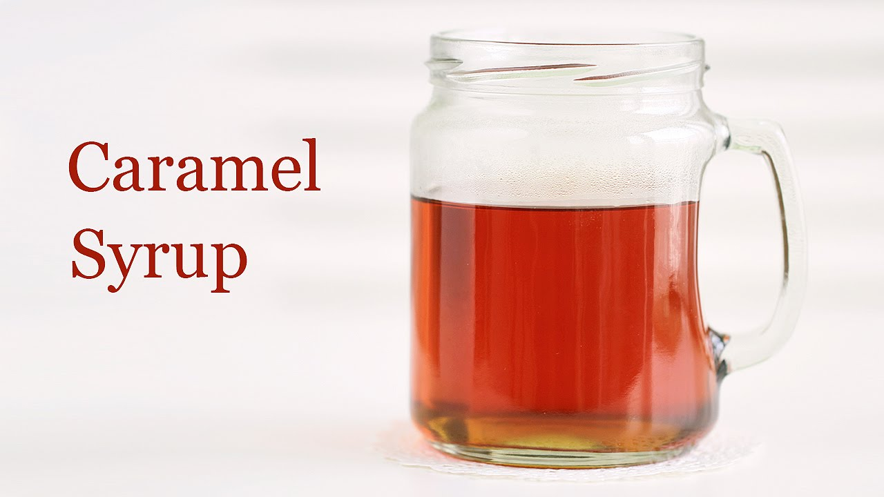 recipe: how to make caramel syrup [22]
