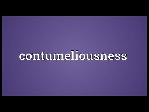 Header of contumeliousness
