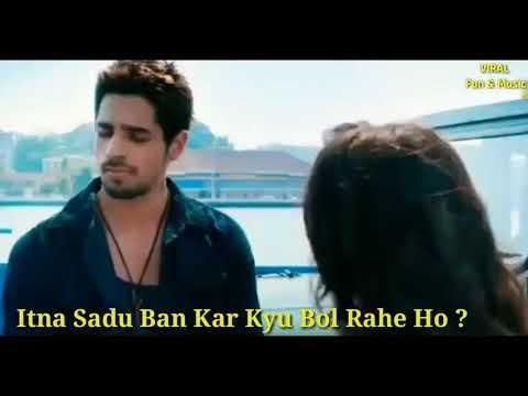 Ek villain movie scene || angry bird dialogue || siddharth malhotra || shraddha kapoor || whatsapp s
