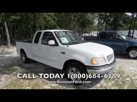 2012 Ford F 150 Xlt >> 1999 Ford F-150 XLT Supercab 1 Owner V6 Charleston Car Videos Review * For Sale @ Ravenel Ford ...