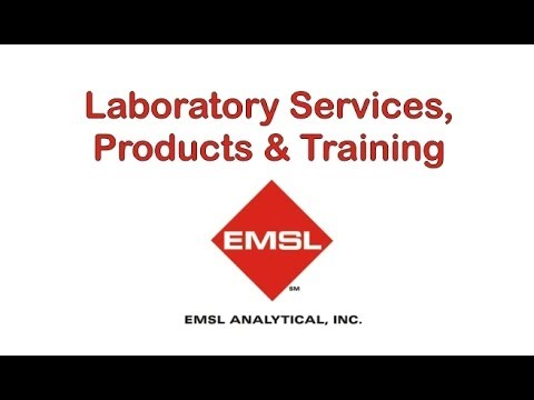 Laboratory Services, Products & Training At EMSL Analytical, Inc.