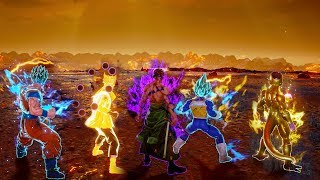 JUMP FORCE - All Transformation Characters