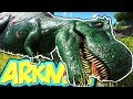 TAMING A TREX - ARK SURVIVAL EVOLVED