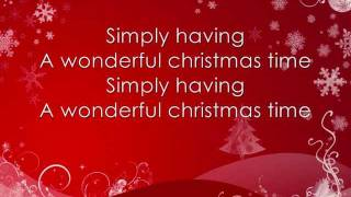 Paul McCartney - Wonderful Christmas time *lyrics on screen*